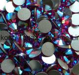 Ss20 цвета фуксии Ab не исправление Rhinestone плоского стекла задней панели Rhinestone (ER03)