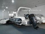 Barca di velocità della barca della nervatura della barca di pesca d'alto mare del peschereccio di Liya 250HP