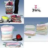 OEM het Plastic Dekbed kleedt de Verpakkende Zak van de Opslag van de Verbinding van de Ritssluiting Vacuüm