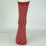 Kundenspezifische Form bilden strickende PUNKT glückliche Socken Ihre eigenen Socken