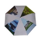 O logotipo personalizado de Abertura e Fechamento Automático 3 Dobre Umbrella
