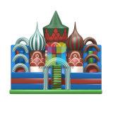 2017子供のための大きく膨脹可能な障害ゲームの城