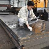 Superfície de aço do preto da barra lisa de P21 Nak80 laminada a alta temperatura
