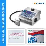 Grande impression de date d'expiration d'imprimante à jet d'encre de caractère de design compact (EC-DOD)