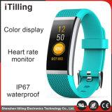 iPhone及び人間の特徴をもつ電話のための自由なアプリケーションのOEMによってカスタマイズされる方法ギフトのBluetoothのスポーツの適性の防水スマートなブレスレットの腕時計