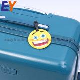 Het kleine Gepersonaliseerde Metaal van de Schommeling hangt Markeringen met Embleem voor de Bagage van de Handtas