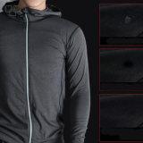 2017 фитнес-удобный спортзал зимней спортивной одежды для мужчин куртка сжатия