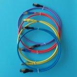 10FT CAT6A Ethernet-Netzwerk lud Kabel-Grau auf