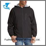 Куртка дождя Hoodies подкладки сетки людей напольная водоустойчивая облегченная