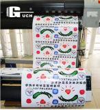 Comercio al por mayor4 rollos de papel de transferencia por sublimación de color oscuro en hot la venta de T-shirt imprimir