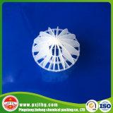 Bola hueco polihédrica con el embalaje al azar de Dropplastic de la presión inferior
