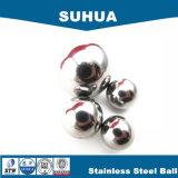 Bola del cromo del acero inoxidable/bola de acero para las bolas del jardín de la decoración