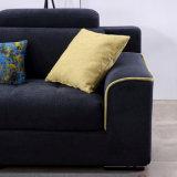Sofa Furniture-Fb1146 de coin de modèle moderne de tissu de flanelle de qualité
