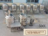Cervecería micro /Beer del equipo de la fabricación de la cerveza que hace la máquina 400L