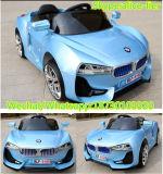 لون زرقاء كهربائيّة يشغل عمليّة ركوب على جديات سيارة
