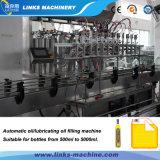 Автоматическая машина завалки автотракторного масла управлением счетчика- расходомера