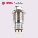 CE RoHS Hban 2posición (19mm) con el metal de la flecha de selección