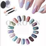 Láser estrellado pigmento de la Plata Rainbow Holo espejo cromado brilla en polvo