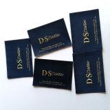 Escritura de la etiqueta tejida aduana de lujo de la profesión para la ropa