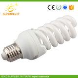 Половина спираль CFL сырья энергосберегающая лампа с маркировкой CE RoHS сертифицированных