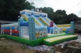 Fabrik-direkter Verkaufs-kommerzieller grosser BerufsPinguin-aufblasbares Schloss mit Seite für Kinder für Verkauf