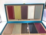 2017 Comercio al por mayor alto brillo metálico pintura UV Paneles de madera MDF Puerta de cocina