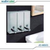 Venta caliente cuarto de baño de pared dispensador de jabón líquido