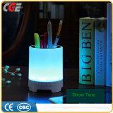 Lampe de bureau à commande par effleurement de vente chaude de la lampe DEL de Tableau de la lampe DEL de livre de la lampe DEL de table de nuit de la couleur DEL de haut-parleur sans fil portatif de Bluetooth