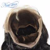 新しい到着の卸売インドボディ波のバージンの人間の毛髪360のFrontal