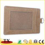 Подгонянная высоким качеством кожаный бирка багажа и бирка багажа