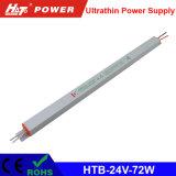 alimentazione elettrica di commutazione di 72W 3A 24V per il segno ultrasottile di Lightbox