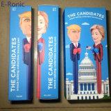 Appena premere e giocare, regali divertenti che comunicano la penna di inscatolamento della penna per il briscola ed i ventilatori della Hillary