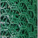 エレクトロによって電流を通される六角形の金網