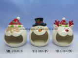 La navidad de cerámica decorativa Caja de galletas de reno
