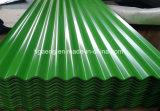 Colorer le métal couvrant la tuile de toit galvanisée imperméable à l'eau de prix usine