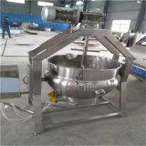 Inclinazione del POT di cottura elettrico con l'agitatore