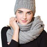 남녀 공통 겨울 아크릴 케이블 뜨개질을 하는 패턴 스카프