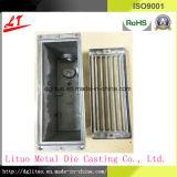 Il hardware di alluminio il mattone Fragement della pressofusione con la base della feritoia e della copertura superiore