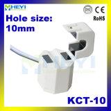 Струбцина на трансформаторе 5A/2.5mA 20A/10mA 60A/20mA 75A/25mA 75A/333mv Split сердечника Kct-10 типа 0.5 размера 10mm отверстия в настоящее время