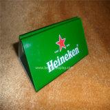 De goedkope Acryl Plastic Houder van het Menu van de Drank (btr-I6029)