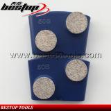 De zachte Plaat van het Metaal van het Blok van de Diamant Malende voor Oppoetsende Machine HTC