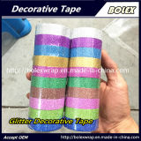 Nastro adesivo 1.5cm*3m/Roll, 10 colori/insieme di colori DIY di scintillio di scintillio multifunzionale decorativo del nastro