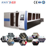 1kw-2000W Machine à découper au laser à fibre de feuille à lame laser Hans GS