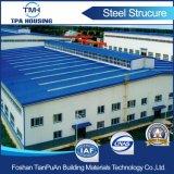 Taller prefabricado ensamblado fácil modificado para requisitos particulares del marco de la estructura de acero del diseño