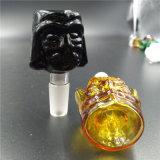 tazones de fuente de cristal del fregadero de 14m m 18m m Star Wars Darth Vader para el tubo de agua