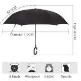Publicidade Promocional de alta qualidade aberto Automático guarda-chuva invertida