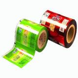 Pellicola di rullo di plastica di laminazione di imballaggio per alimenti per il prezzo di fabbrica della torta