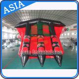 3 Gefäße, die Towables/aufblasbares Fliegen-Fisch-Bananen-Boot für Wasser-Sport fliegen