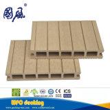 Decking di legno Grooved 174*25mm del composto WPC del doppio fronte classico