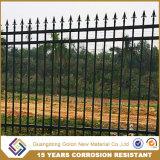 Barriera di sicurezza di costruzione galvanizzata ornamento/rete fissa di segretezza con il cancello